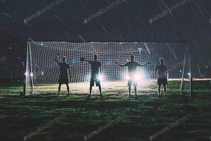 The soccer boys