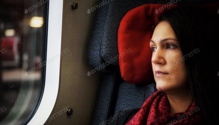 In einem Zug