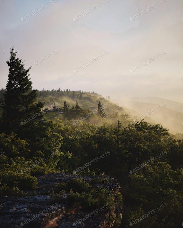 Sunrise in West Virginia