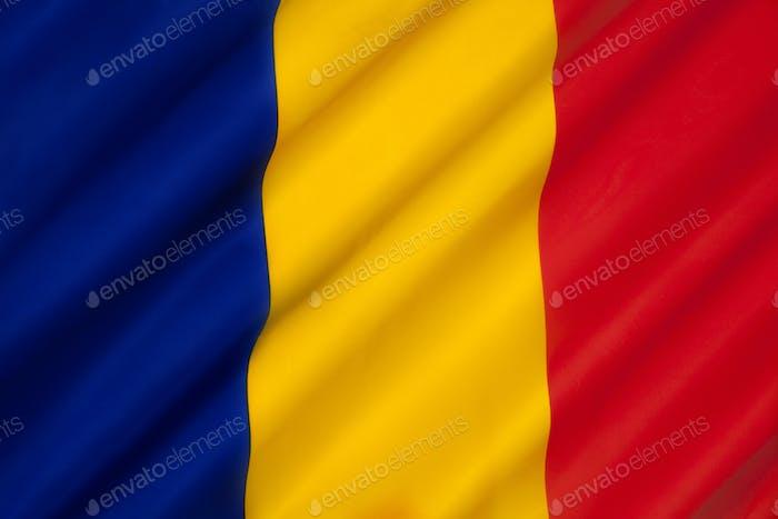 Flagge Rumäniens