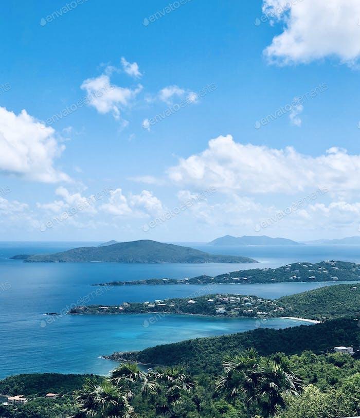 Nature, Beautiful islands of the Caribbean.