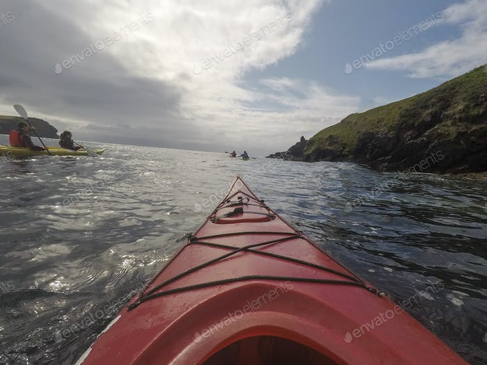 Kayaking with Family in Ireland