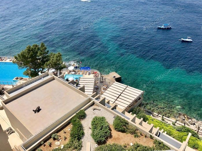 Ocean view Dubrovnik croatia