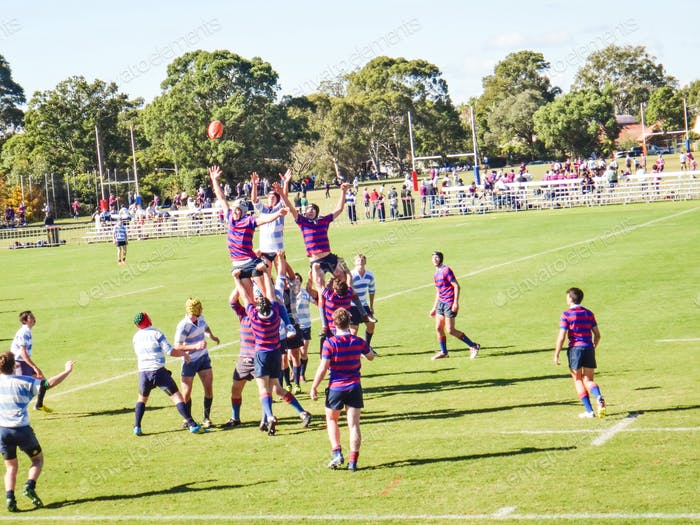 💲✔️✔️  High School game of Rugby Union - Sydney, Australia - St Joseph's College at Hunters Hill