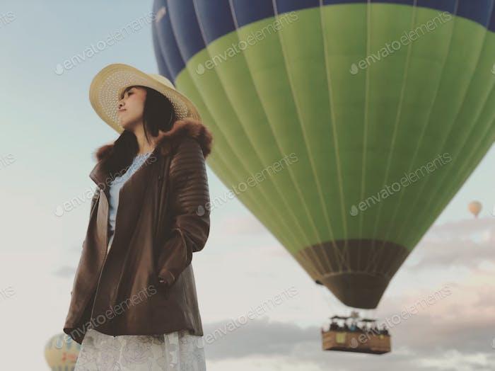 The balloon tour view