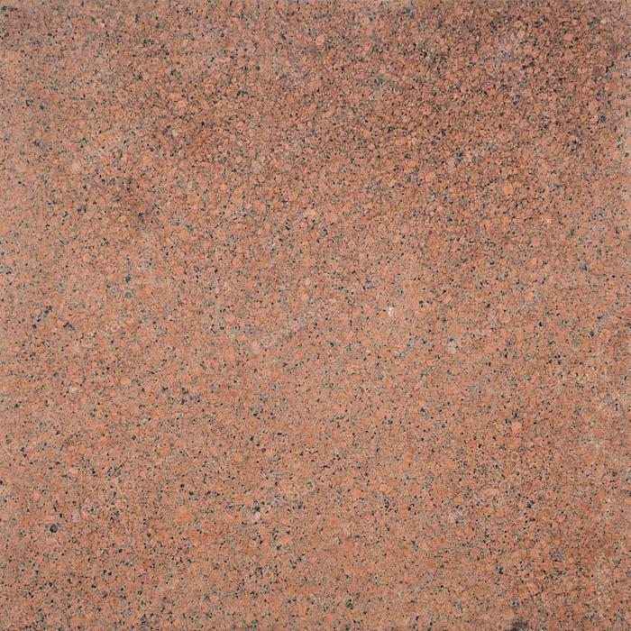 Die Textur von matt behandeltem braunem Granit