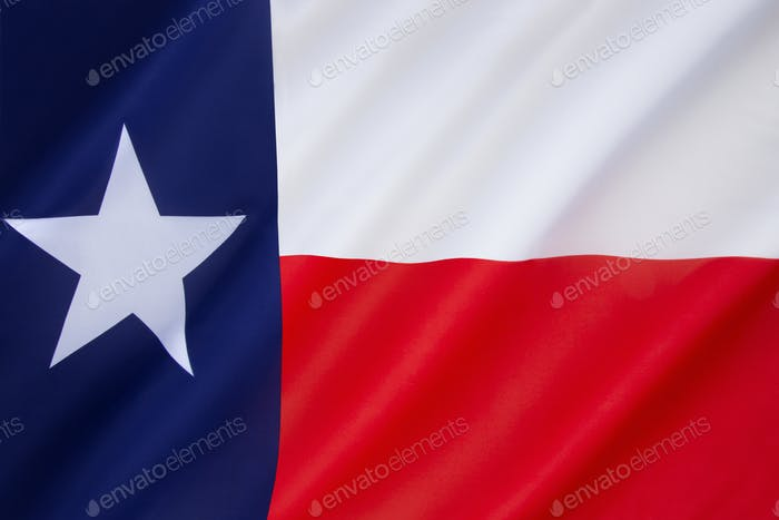 State flag of Texas - United States of America