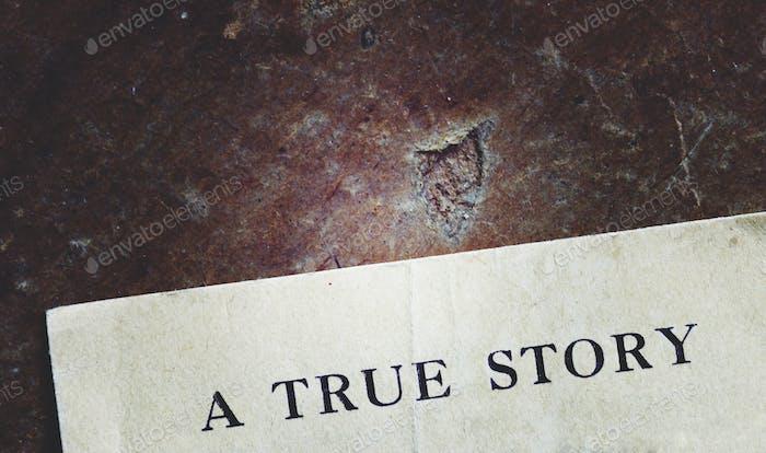 Verdadera historia