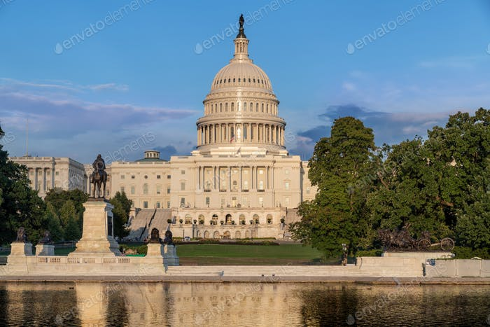 The capital Washington DC.