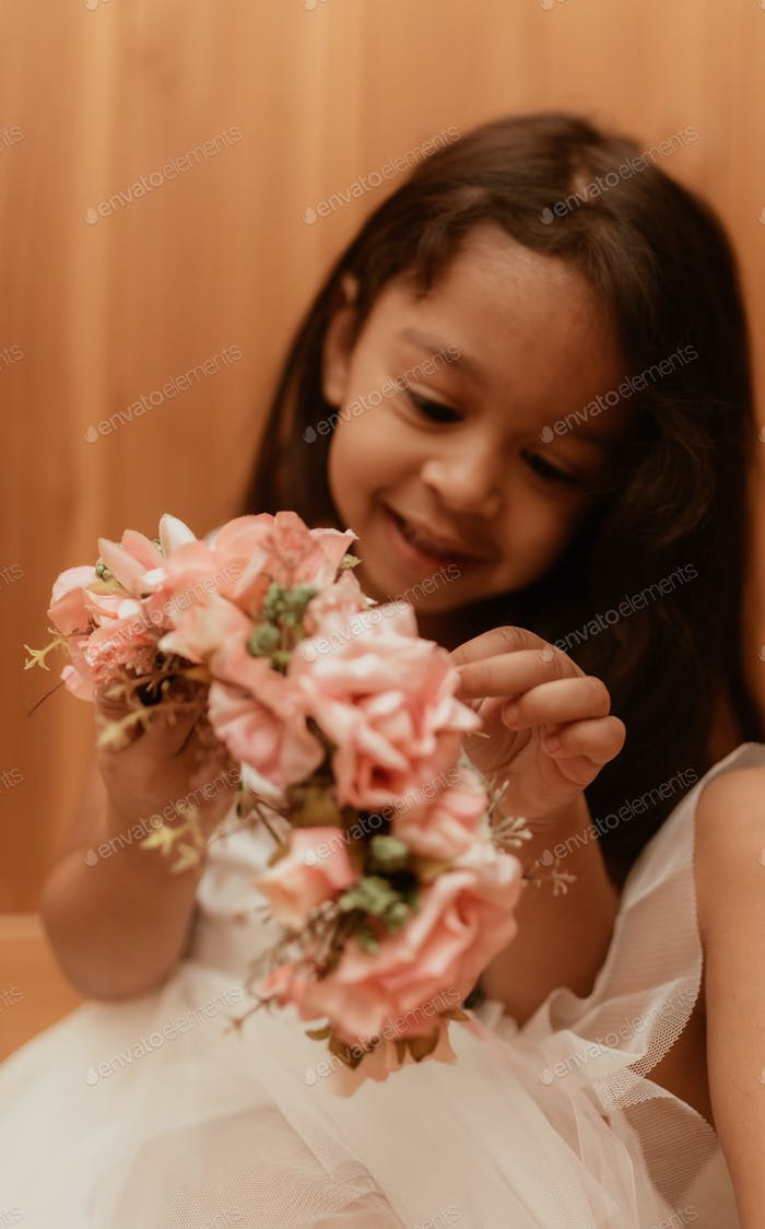 Earth tones, dress, girl, toddler, flowers, pretty