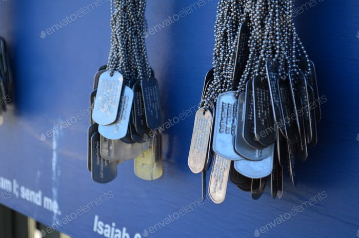 Dog Tags a Memorial to Remember