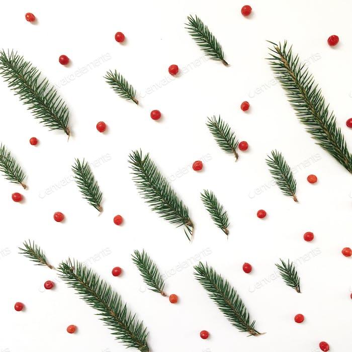 Weihnachten flach lag