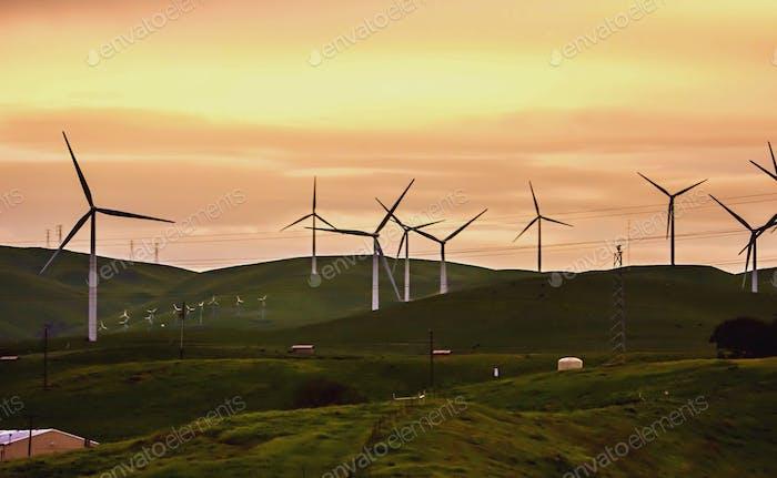 Livermore Windmühlen