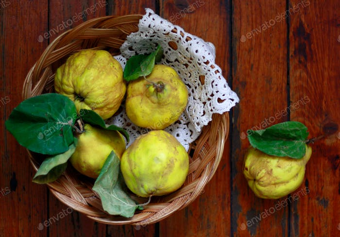 Quinces in a basket 2