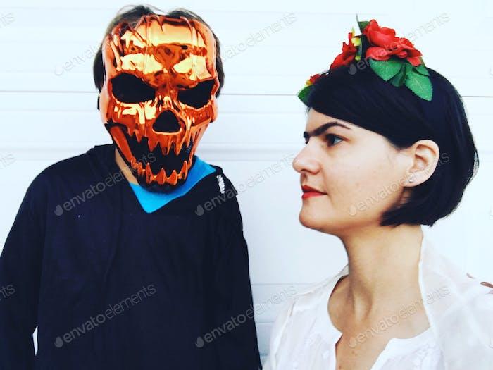 Candid Halloween