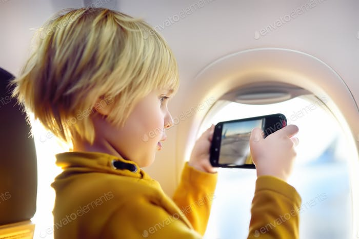Thumbnail for boy, take, shot, plane, illuminator, aircraft, blogger, photographer, videographer, airplane, travel