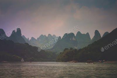 Wilderness in Lijiang River