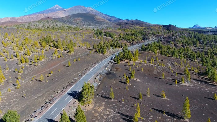 National Teide parkland in Tenerife