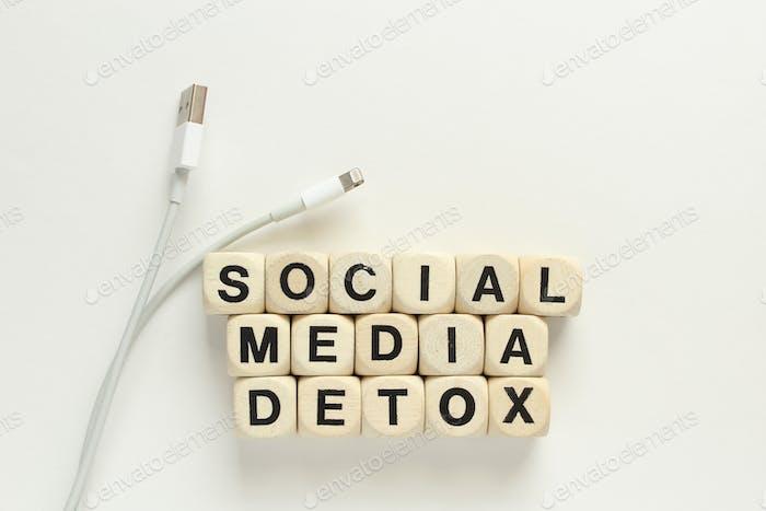 Entgiftung in sozialen Medien