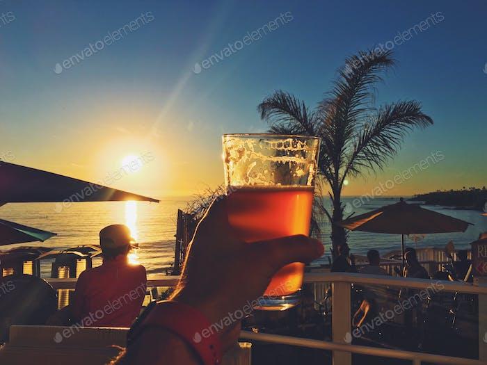 Nach der Arbeit pint!  #lagunabeach