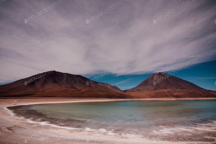 Lago verde, Bolivia