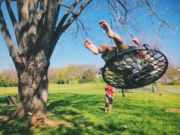 Sundays are for swinging