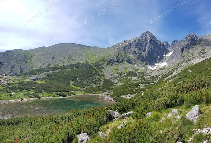 Reiseziel, Slowakei, Hohe Tatra