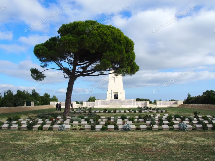 Anzac memorial cemetery.