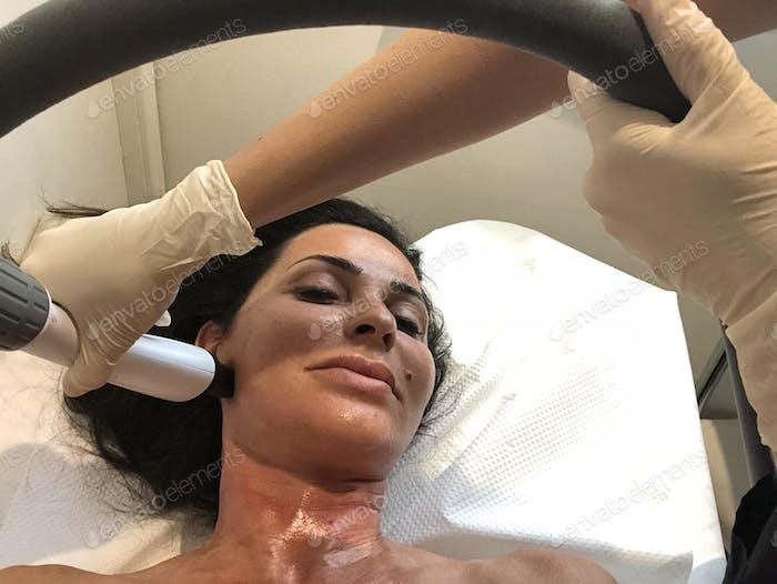 Plastic surgery and dermatology facial rejuvination