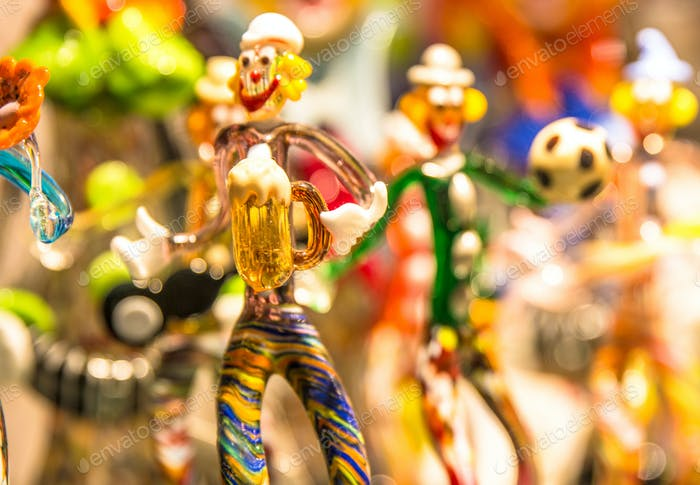 Glassy People Knick Knack Decoratives