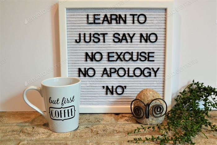 """Set boundaries and learn to """" just say no!"""" 💕nominated"""