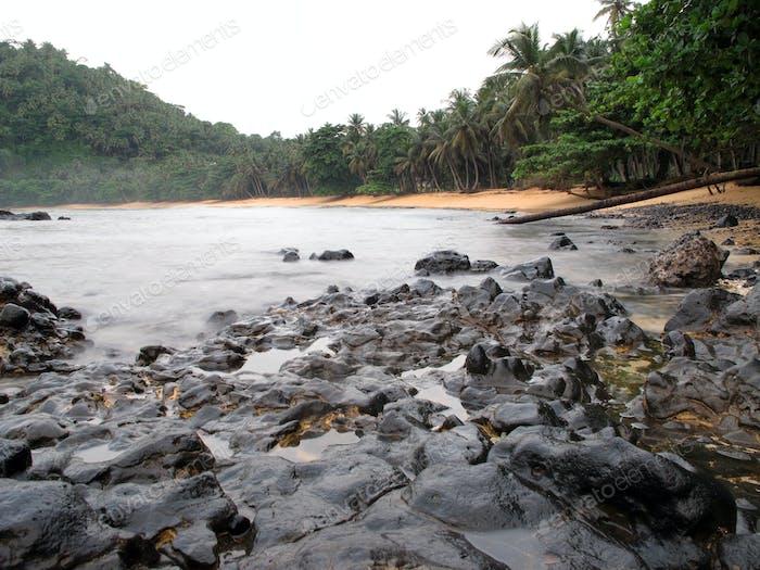 Inhame Beach, São Tomé