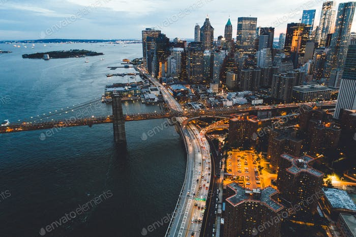 vista a la ciudad de nueva york