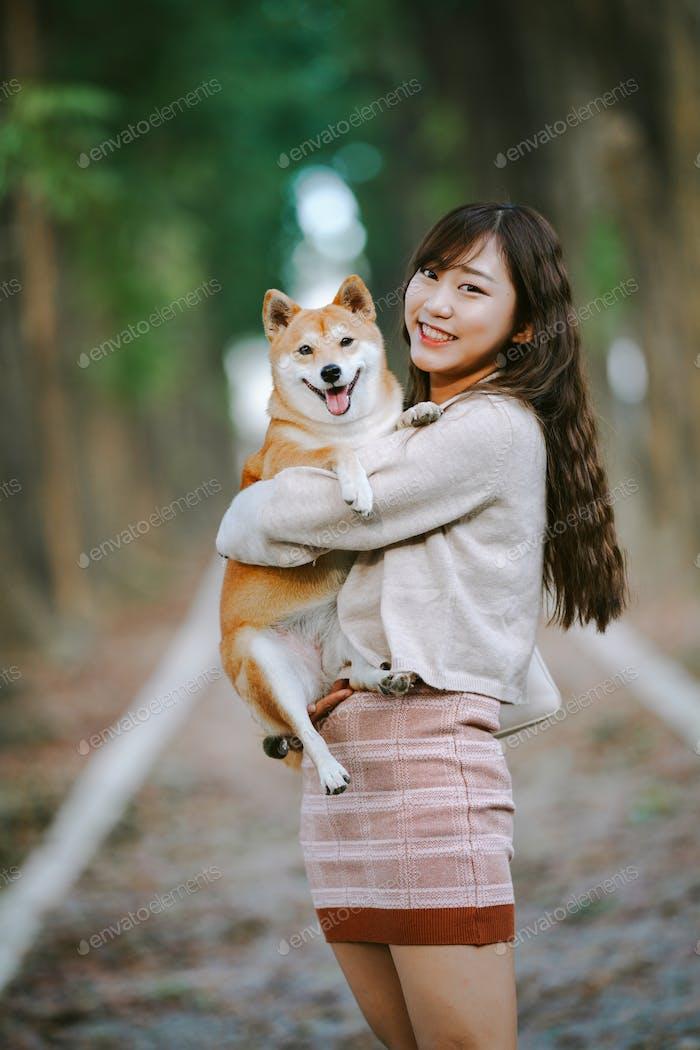 Girl of asian