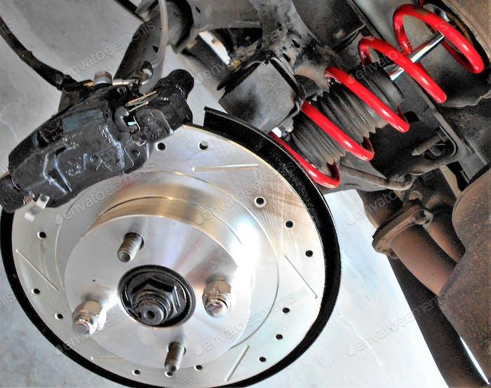 Newly Installed Brakes