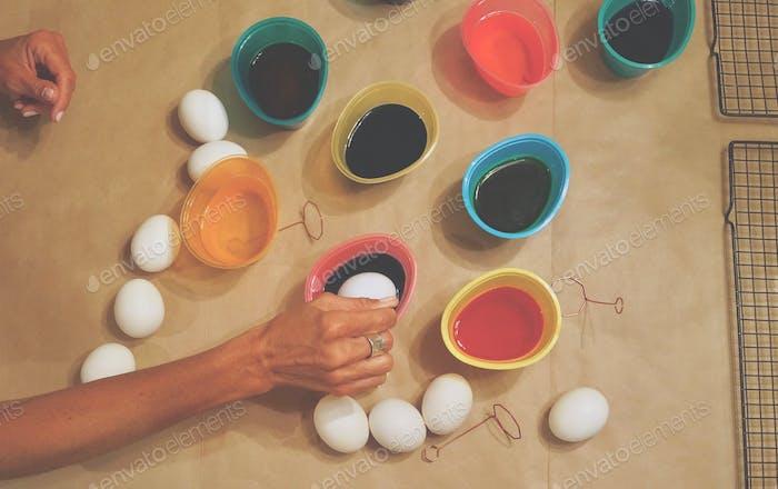 Zeit, Ostereier zu färben! tonythetigersson, Tony Andrews Fotografie