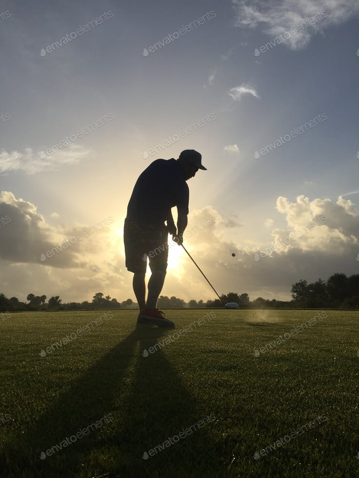 Early morning golf in Florida - beat the heat!