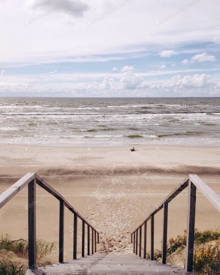 View on a Baltic Sea