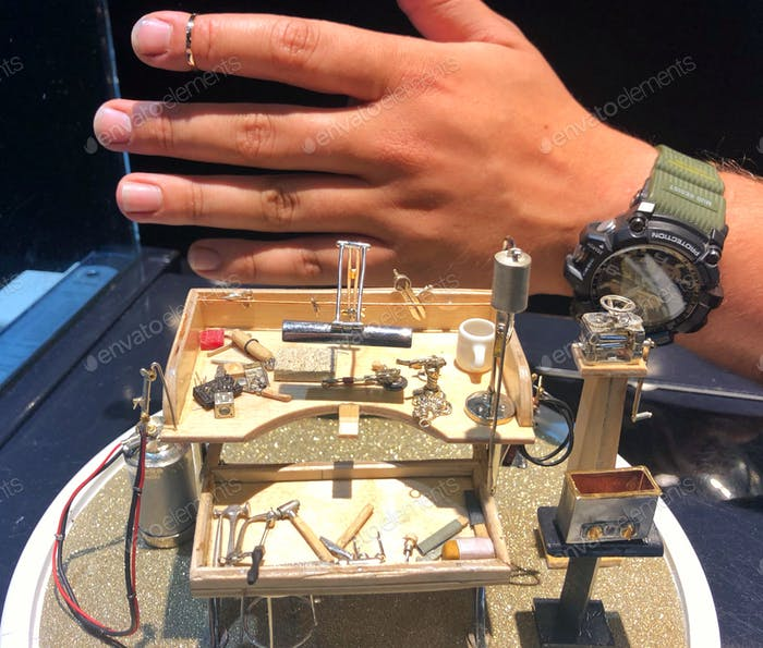 Jewelers Miniature Workbench