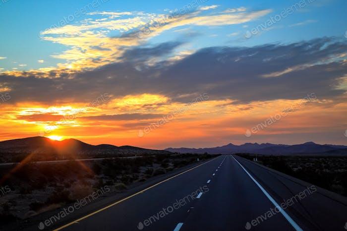 """Mojave Sunrise"""