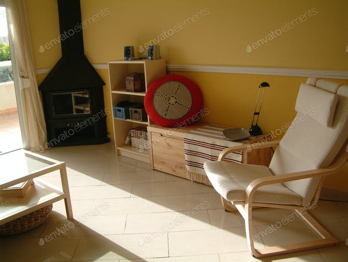 Home organising, Very tidy living room!