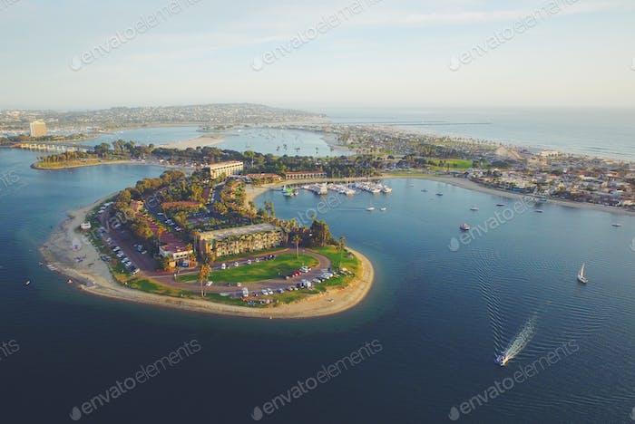Bahia Resort at Mission Bay in San Diego, California
