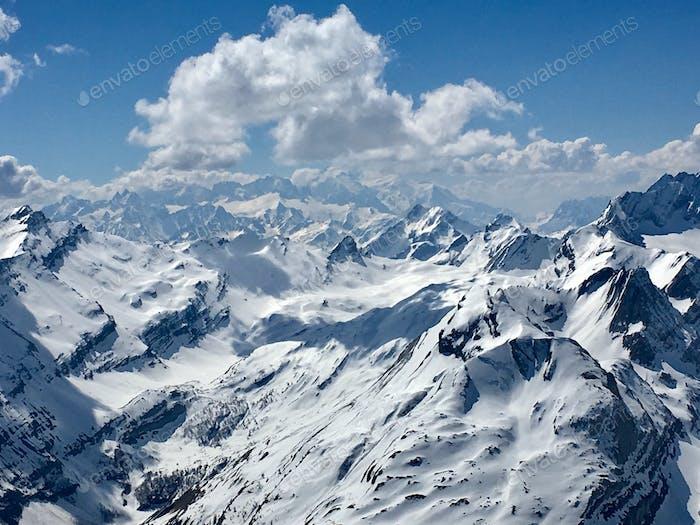 Swiss Alps in October