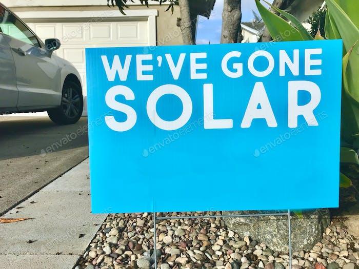 Solar gehen ist eine großartige Möglichkeit, Geld zu sparen und nachhaltige Ressourcen zu nutzen