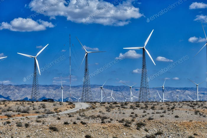 Alternative energy. Sustainable