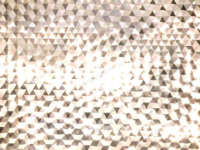 Fondo abstracto de metal brillante