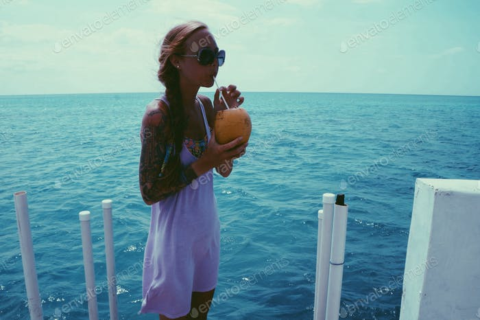 Fresh Coconut Water 💙