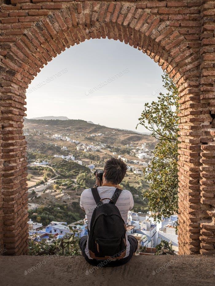 Leidenschaftlicher Fotograf in Marokko