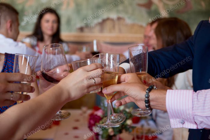 wedding celebration, drinks