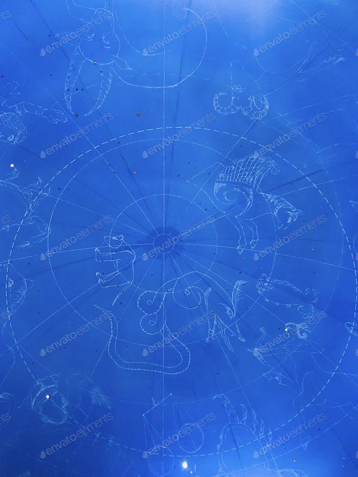Zodiac ceiling